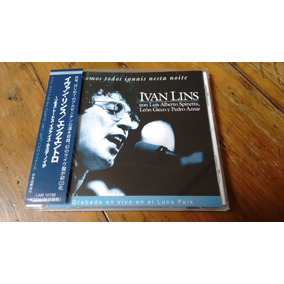Cd Ivan Lins Encuentro Spinetta León Gieco Pedro Aznar 1984