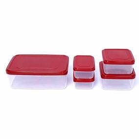 Caixa De Vasilhasarmazenamento Do Refrigerador (1 Set)