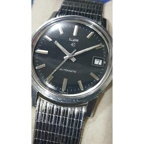 Reloj Elgin Swiss Vintage Acero