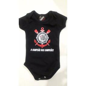 Body Bebe Corinthians - Bodies Manga Curta em Minas Gerais de Bebê ... 11bcb57a6ab28