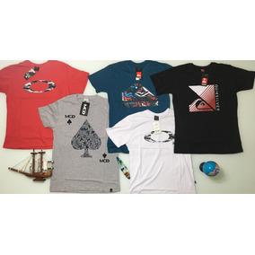 Promoção Kit Atacado 5 Camisa Camiseta Oakley Masculina