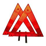 Baliza Triangular Reflectiva Estandar Reforzada Apta Vtv