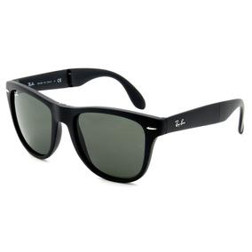 Ray Ban Folding Wayfarer Rb4105 Black Dobravel Tamanho 54 - Óculos ... 3af6e40fbe