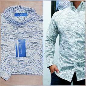 9c1608dd3a860 Camisas Letras en Mercado Libre México