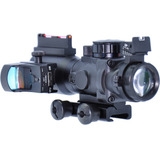 Mira Holográfica Acog Com Mini Red Dot Titan 4x32 20mm