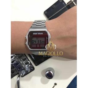649718d3fa9a8 Relógio Feminino Mormaii Maui Prata - Relógios no Mercado Livre Brasil