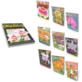 Revistas Orquídeas Da Natureza Como Cultivar Kit 10 Volumes