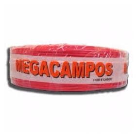 Cabo Flexivel 2,5 Mm Vermelho 100 Mts Megacampos