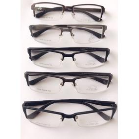 Armação Para Óculos 3 Peças - Óculos Preto no Mercado Livre Brasil f18ae0acfe
