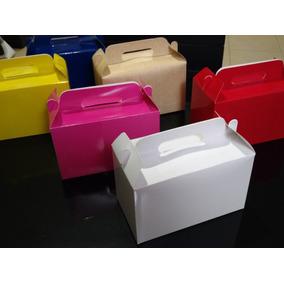 Loncheras De Cartón Ideales Para Dulceros O Box Lunch