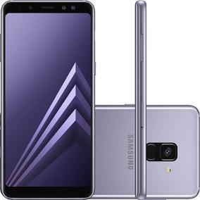 49004c2fa9d Celular Samsung Galaxy A8 Plus 6 64gb 16mp Ametista