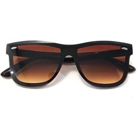 0dd82c440994c Óculos Chan Marrom Lentes Marrom Degradê Polarizadas Leilão - Óculos ...