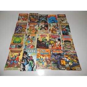 Lote Com 20 Revistas Hq Marvel Wolverine Lote N 1