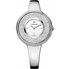 Reloj Swarovski Modelo Crystalline Pure Plateado