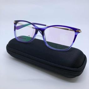 Óculos Para Grau Roxo Degrade Gatinho Acetato 2018 Armação. R  49 99 8ad7ac231b