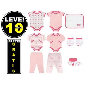 Frete Grátis   Kit Saida Maternidade 10 Pçs Lilica Ripilic. R  187 39 b5244cb5876f4