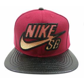 Boné Aba Reta Nike Sb Vinho E Preto Mod 70371  frete Grátis 8e6d6b0defc