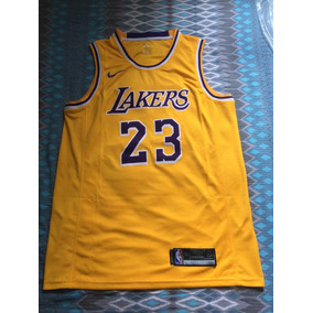 0268b0b03c Camisa Nike Los Angeles Lakers Away Lebron James 23 - 18 19. R  249 90