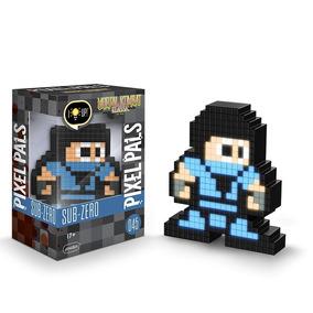 Boneco Pdp Pixel Pals Mortal Kombat Sub-zero