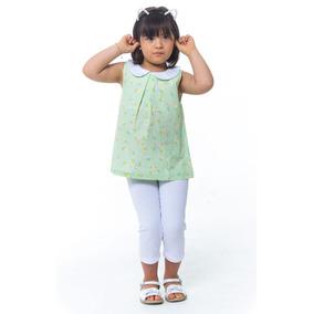 Conjunto Infantil Menina Bata E Legging Tamanho 06 - Calçados ... 57ed038c81a45