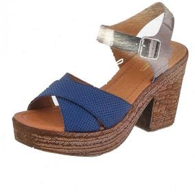16d9c425 Sandalias Gladiador Cklass Mujer - Sandalias y Ojotas Azul en ...