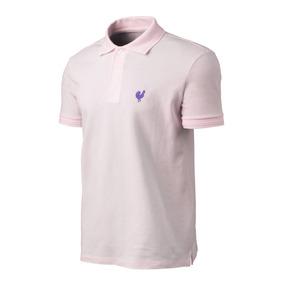 Camisa Polo Masculina Jãum Jãum Made In Mato Rosa Casual f8d42732bdb9f