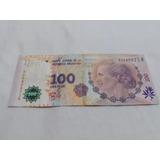 Billete De 100 Pesos Evita Error De Impresion Falla