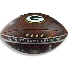 Balon Conmemorativo Futbol Americano Nfl Green Bay Packers caea7772696