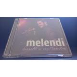 Cd Melendi - Directo A Septiembre + Dvd. Vta Solo Mcbo.