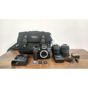 Kit Completo Para Fotógrafos Ou Videomakers - Nikon D7000 +