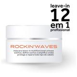 Rockinwaves Leave-in, Máscara E Pomada Modeladora, Pote 200g
