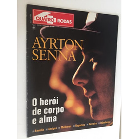 Lote De 9 Revistas E Pôsters Sobre Fórmula 1 - Senna Piquet
