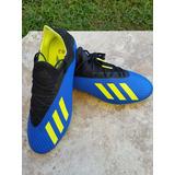 Zapatos Fútbol adidas Tacos Modelo X 18.2 Talla 44(10a) 28cm