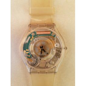 bfe73852ab7 Swatch Skin Tri Gold Skf240a - Relógios De Pulso