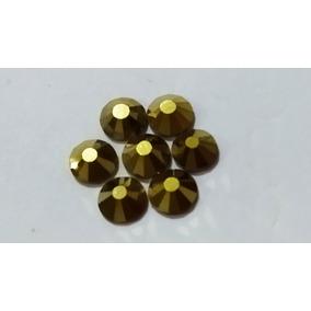 Cristal Para Uñas , Marca Mc Nails , Dorado Ss30 , 288 Pzs