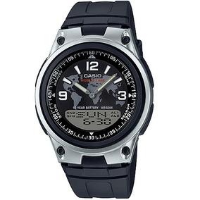 52dc0828eda Relógio Casio Masculino Preto Anadigi Aw 80 1a2vdf - Relógios De ...