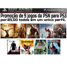 Pacote De 9 Jogos Para Ps3 Psn Pt-br Originais