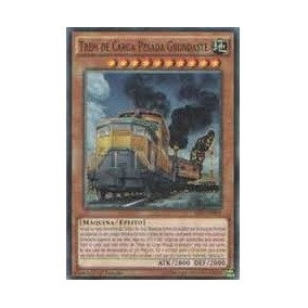 Trem De Carga Pesada Grundaste / Heavy Original Yugioh