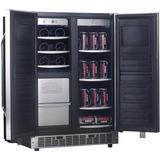 Nevera Vinera Fabricador De Hielo 3 En 1 Bacco A Compresor