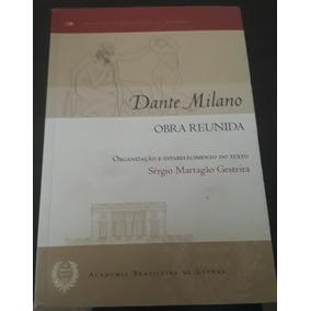 Livro Dante Milano- Obra Reunida / R$: 160,00