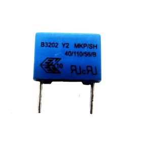 Capacitor Poliester 3.3 Nf X 300v Epcos 10 Unidades