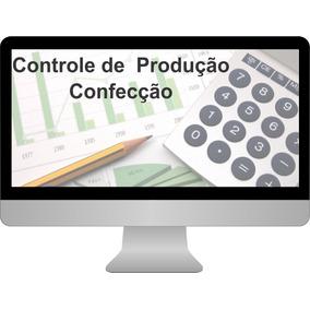 Planilha De Custo De Produção Confecção De Roupas - Editável