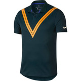 58cba05da32c5 Camisa Polo Nikecourt Tech Knit Cool Roger Federer Advantage