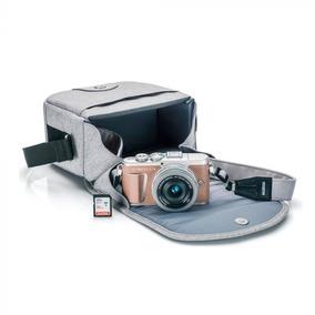 Câmera Olympus E-pl9 14-42mm (bolsa + Memória ) Marrom