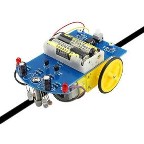 Kit Montagem Robô Seguidor Linha D2-1 Diy