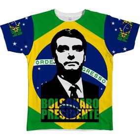 Camiseta Camisa Bolsonaro Presidente 2018 O Mito Chegou Xg 5d95195d45a