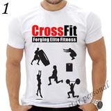 Camiseta Crossfit Academia Elite Fitness Treino Personal 05046e7bed521