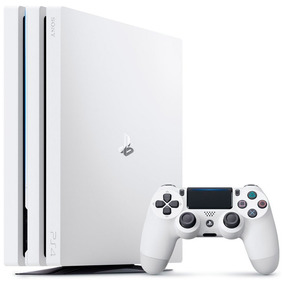 Console Ps4 Pro 4k 1 Tb Branco Usado + 1 Jogo