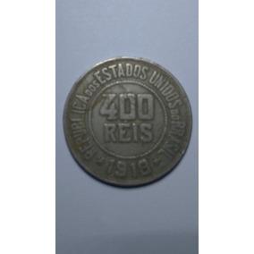Moeda De 400 Réis - Lote 008/18