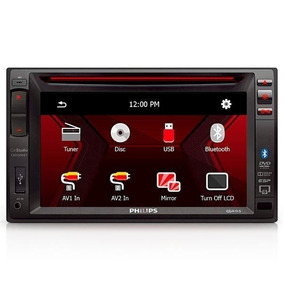 Dvd Player Philips Ced1500bt - 6.2 Polegadas - Touch Screen.